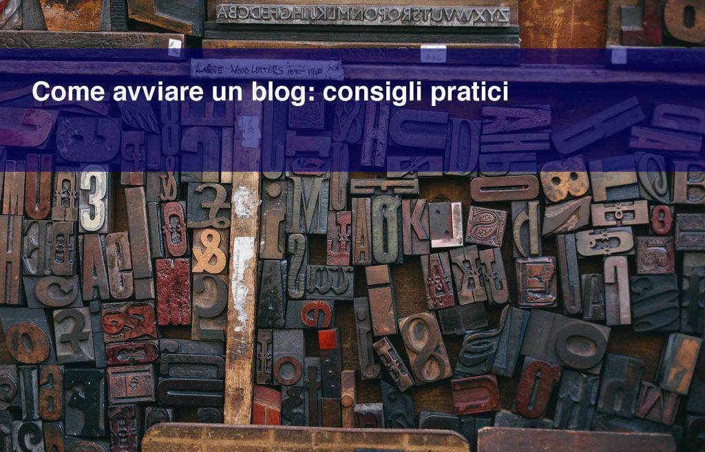 Copertina dell'articolo come avviare un blog